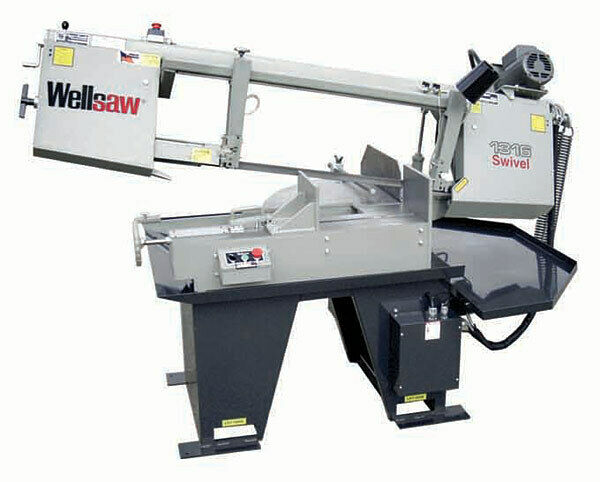 Wellsaw 1316-EXT Extended Capacity Miter Head Bandsaw Made in USA FREE SHIPPING