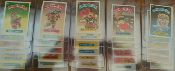 1985 Garbage Pail Kids Series 1 Topps UK Mini Singles You Pick One From List OS1