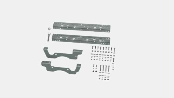 Bamp;W Hitch 5th Wheel Mounting Rails Quick Fit Bracket Kit for 17 19 F 250 amp; F 350 $250.93