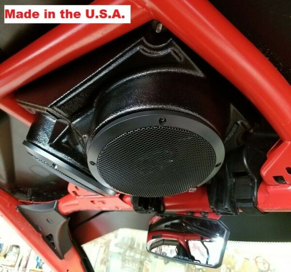 6.5 inch UNI Overhead Roof Mount Speaker Pods Enclosure Polaris RZR ATV UTV Cart $44.00