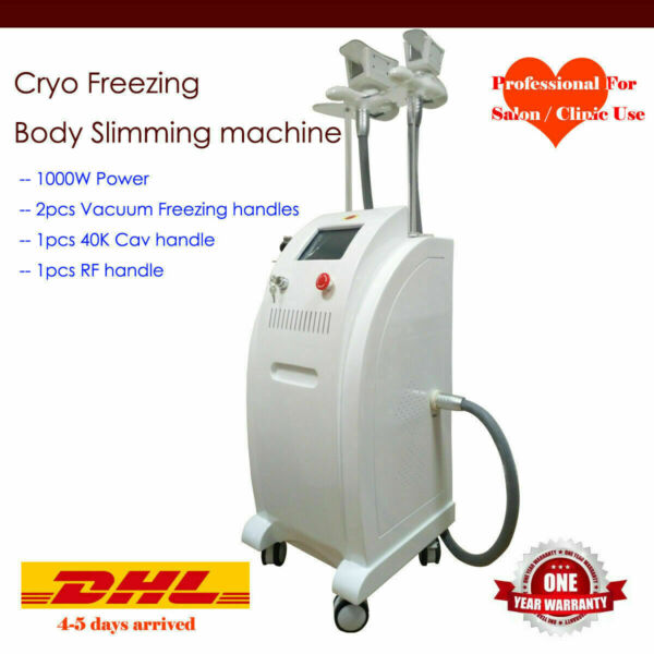 Cool fat freezing cold slimming cellulite reduction radio frequency cavitation $2050.00