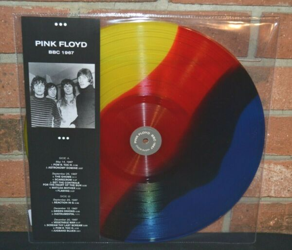 PINK FLOYD BBC 1967 Limited Import COLORED VINYL LP New