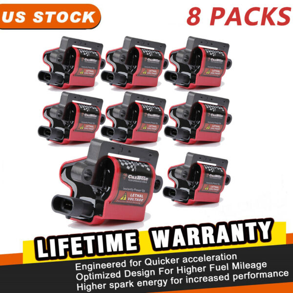 Square Ignition Coil Packs for CADILLAC CHEVROLET GMC WORKHORSE #D581 UF271 New
