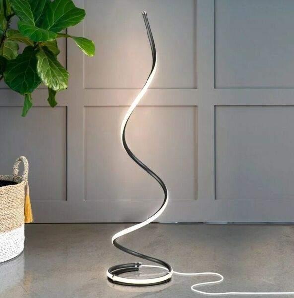 Modern LED Floor Lamp Dimmable Tall Standing Contemporary Livingroom Light