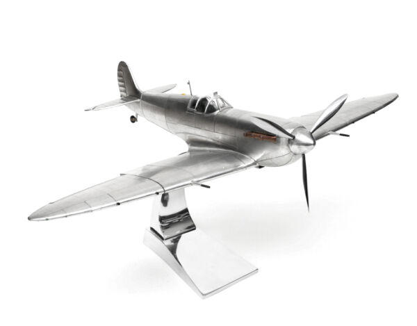 Model Aeroplane Supermarine Spitfire + Stand Attention to Detail Large