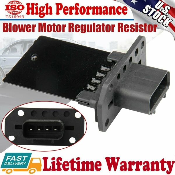 Front HVAC Heater Blower Motor Resistor For 2004 2008 2009 2010 2011 Ford F-150