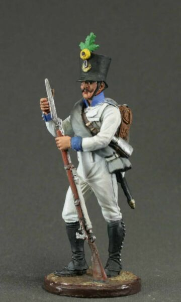 Toy tin soldiers 54 mm.The Napoleonic wars. Austria 1809-14