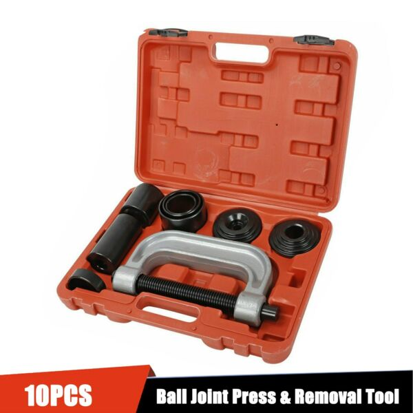 Heavy Duty Ball Joint Press & U Joint Removal Tool Kits w 4x4 Adapters