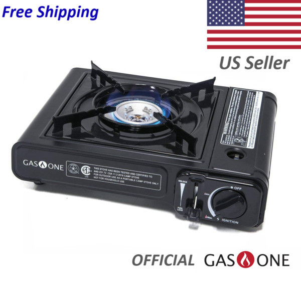 Gas One 1 Burner Portable Butane Camp Stove $25.99