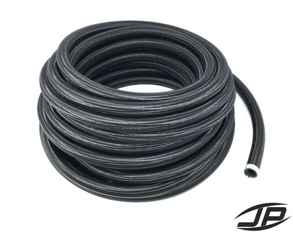 AN16 16AN Black Nylon Braided Stainless Steel Hose HIGH QUALITY SOLD PER FOOT