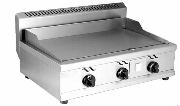Natural Gas Stainless Steel Griddle Grill Home BBQ Flat Top Plate Countertop New