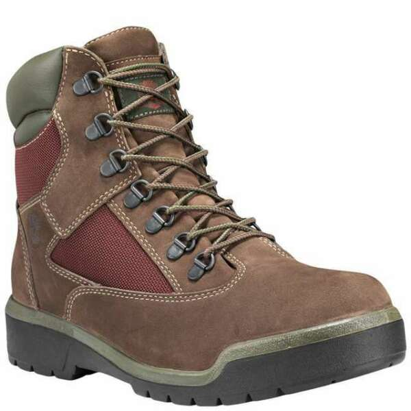 Timberland 6#x27; Waterproof Field Boot Men#x27;s Shoes Dark Brown TB0A1W2B #268 $120.00