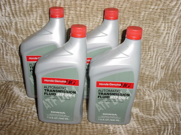 4 GENUINE HONDA ACURA OEM AUTOMATIC TRANSMISSION FLUID ATF DW-1 08200-9008