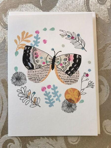 Greeting Card, Butterfly, Blank