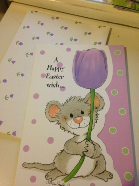 suzys zoo easter greeting cards & envelopes