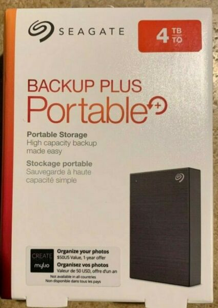 Seagate STHP4000400 4TB External 2.5in. Hard Drive - Black