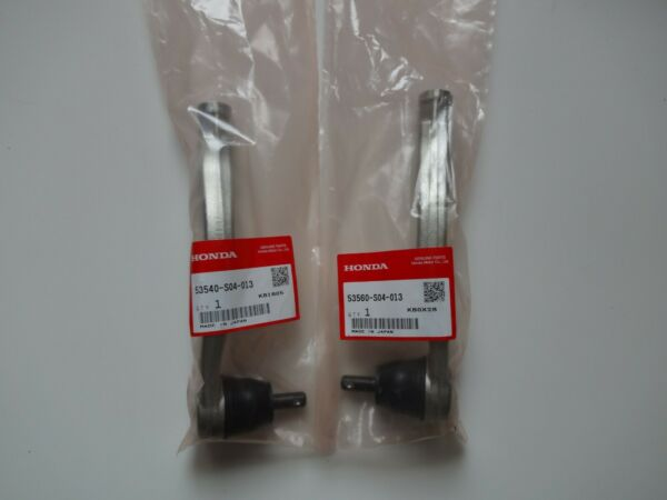 HONDA RIGHT LEFT OUTER Genuine TIE ROD ENDS PAIR 53540-S04-013 53560-S04-013 FS
