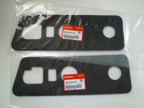 HONDA CRX EF8 SIR Right & Left Genuine Tail Light Gaskets 33503-SH2-A01 x2 FS