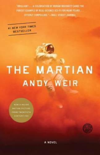 The Martian Paperback By Andy Weir VERY GOOD