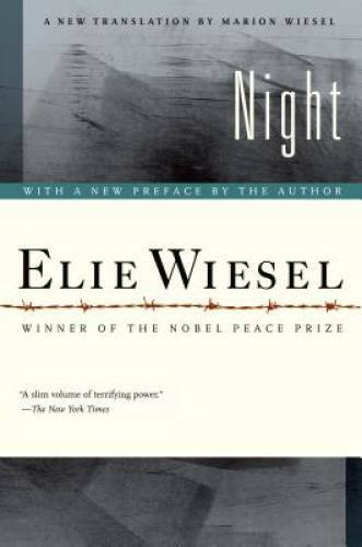 Night Night Paperback By Elie Wiesel VERY GOOD