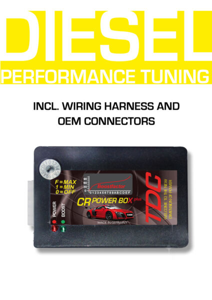 DIGITAL Power Box Chiptuning Diesel Performance Chip for TOYOTA IQ 1.4 D4D