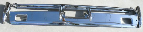 X LINCOLN CONVERTIBLE NEW TRIPLE PLATED CHROME REAR BACK BUMPER 1966-1967 66-67