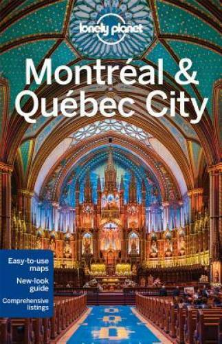 Lonely Planet Montreal amp; Quebec City Travel Guide Paperback GOOD