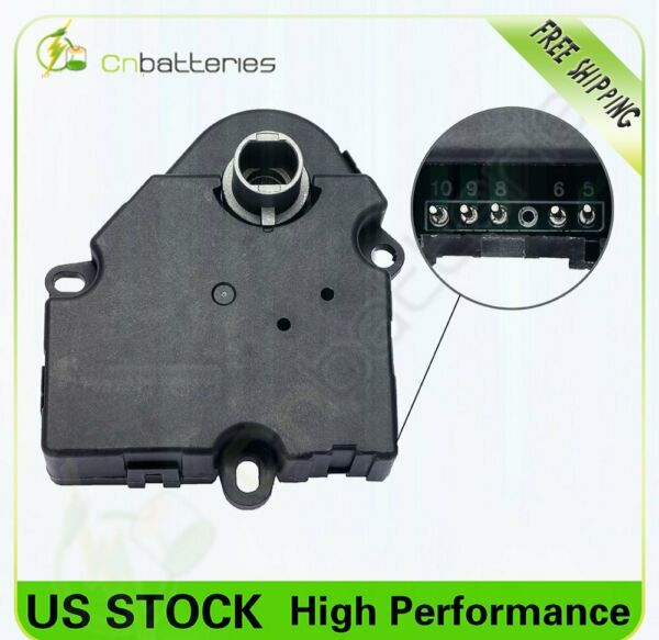 HVAC Heater Blend Door Actuator 15-73989 For Buick Enclave Chevrolet GMC 07-12