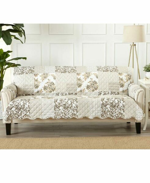 Quilted Cottage Furniture Covers Slipcover Protectors Chair Loveseat Sofa Couch $24.79