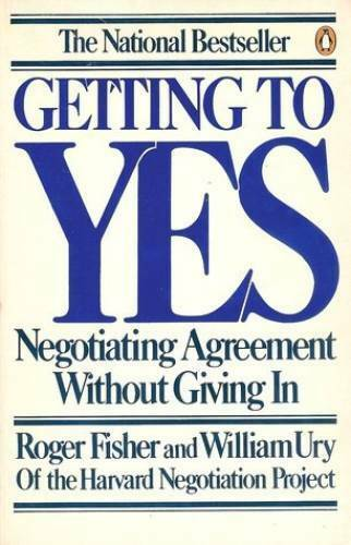 Getting to Yes: Negotiating Agreement Without Giving In Paperback GOOD