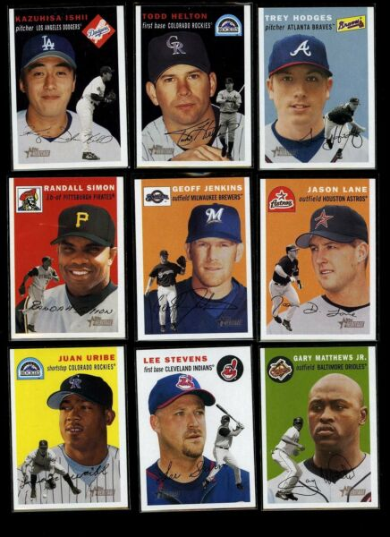 2003 Topps Heritage SP Short Prints Lot - You Pick Your Choice From 90+ cards