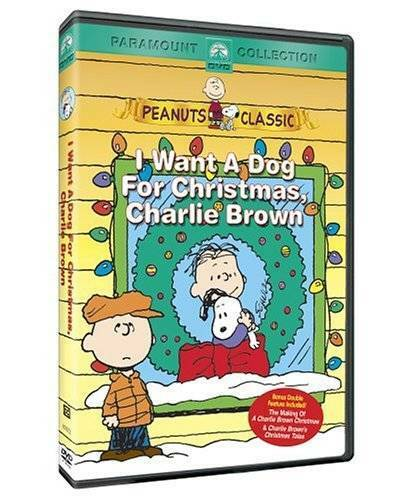I Want a Dog for Christmas Charlie Brown DVD VERY GOOD $4.89