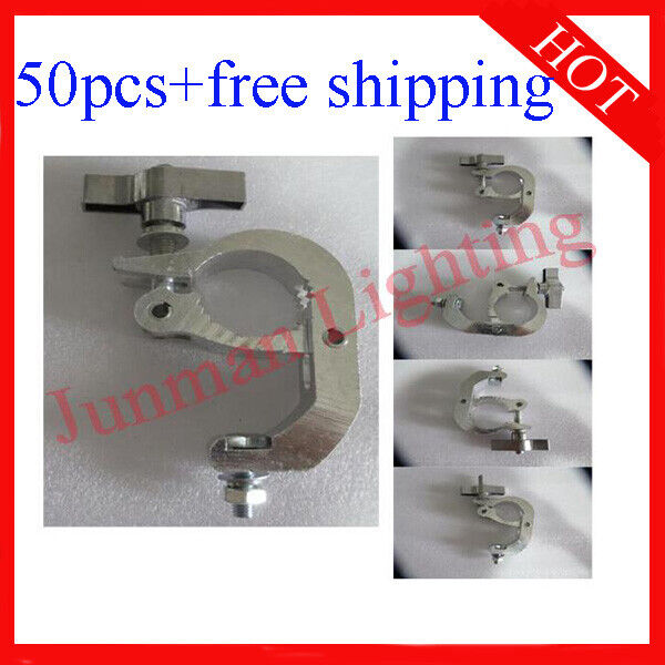 Light Clamps Hook Fit 40-50mm Tube For DJ Disco stage Light 50pcs Free Shipping