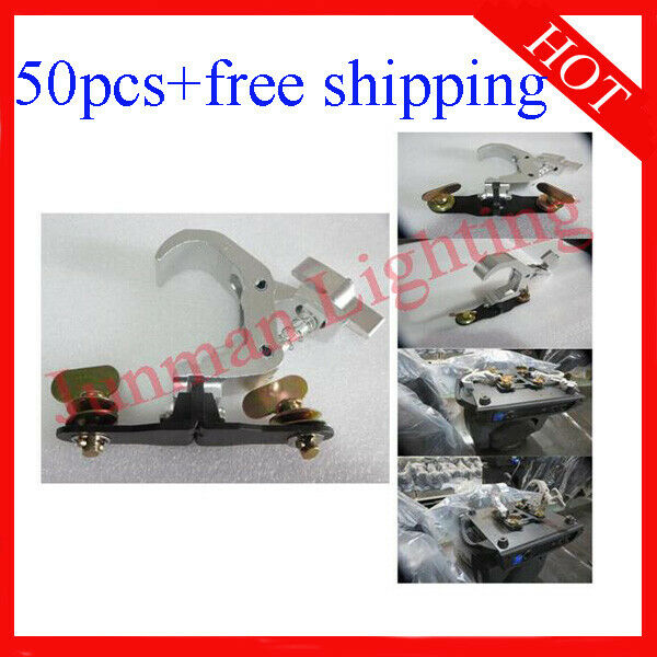 Foldable Light Clamps Bracket Quick Lock For DJ stage Light 50pcs Free Shipping