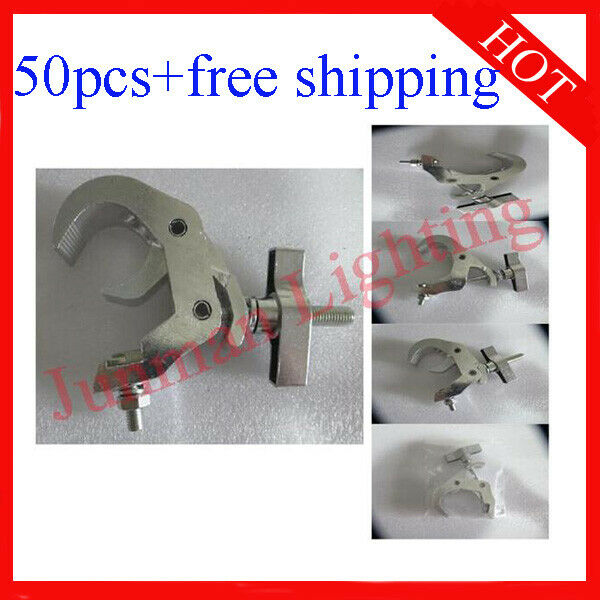 Light Clamps Hook Fit 40-52mm Tube For Disco stage Light 50pcs Free Shipping