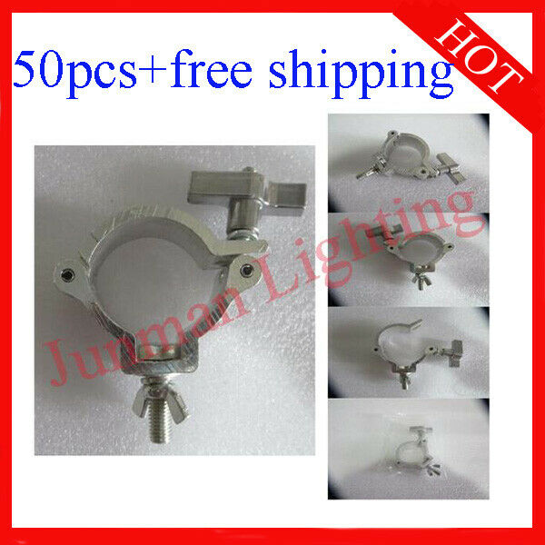 Light Clamps Hook Fit 40-52mm Tube For DJ Disco Effect Light 50pcs Free Shipping