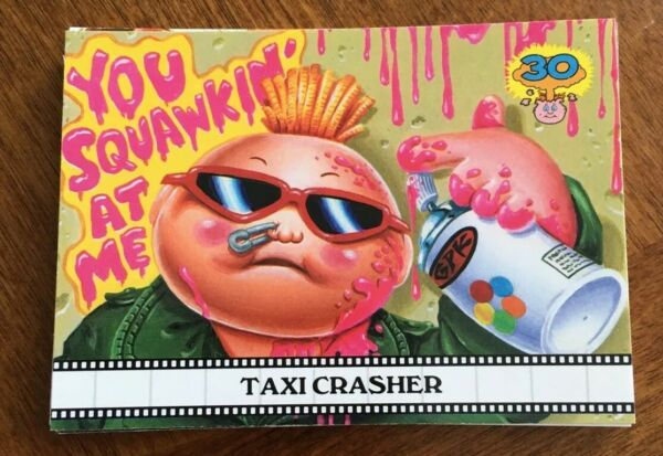 2015 GARBAGE PAIL KIDS 30TH ANNIVERSARY FAMOUS MOVIE CARD SET 1515 RARE GPK