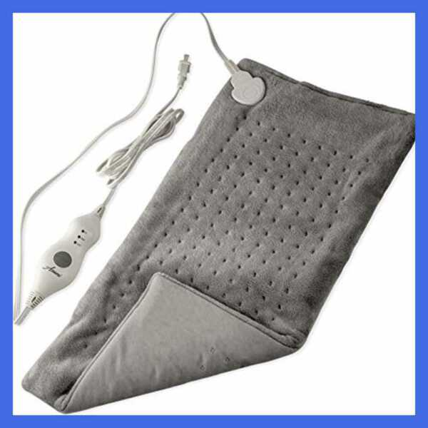 XL Heating Pad For Back Pain WAuto Off Ultra Fast Extra LARGE Dry Electric Heat