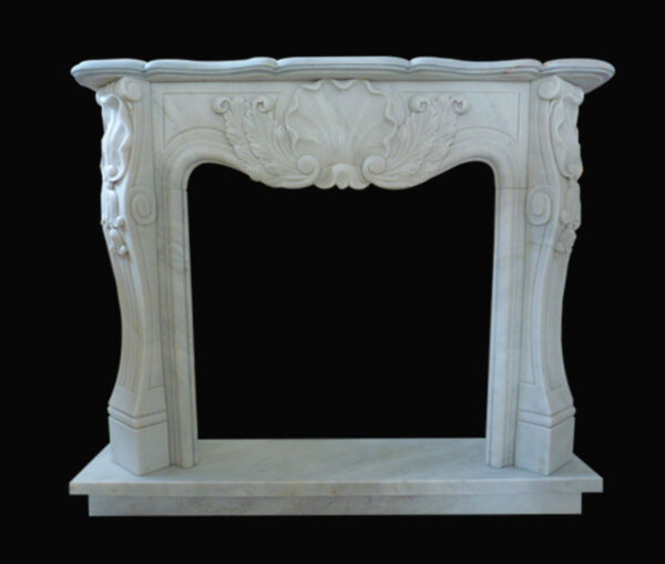Frame Fireplace Fireplace White Marble Carrara Marble Fireplace Frame Louis XV