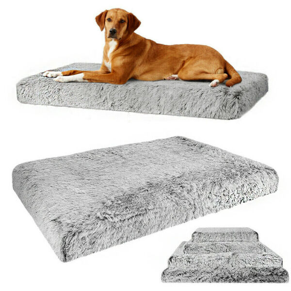XXXL XXL Extra Large Foam Pet Dog Bed Soft Plush Orthopedic Joint Relief Mat Bed $25.92
