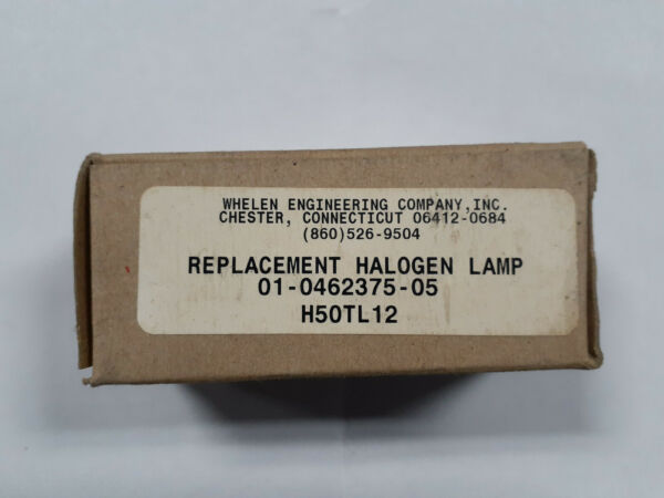 WHELEN ENGINEERING-REPLACEMENT HALOGEN LAMP (BULB)- H50TL12