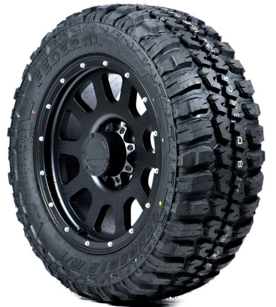 Set of 4 Federal Couragia M T Off Road Tires 30X9.50R15 LRC 6PLY Rated