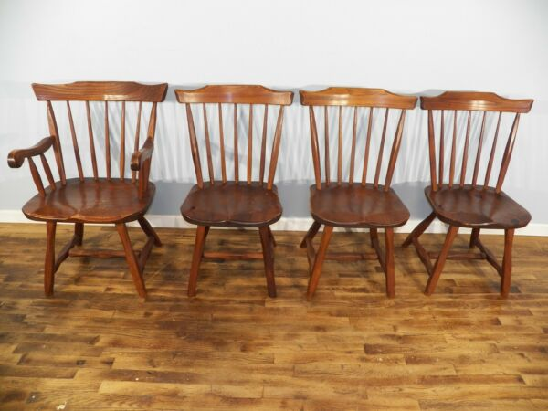 Hunt Country furniture Arm Chair amp; 3 Side Chairs $200.00