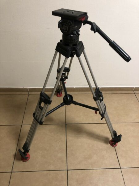 Sachtler Video 15 SB Fluid Head 100mm Bowl Tripod Carbon Systems 5386 ENG 2 CF