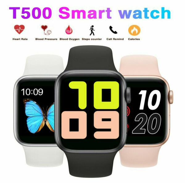 T500 Smart Watch IOS Android Iphone Apple Samsung LG Smartwatch Men Kids Watches $27.49