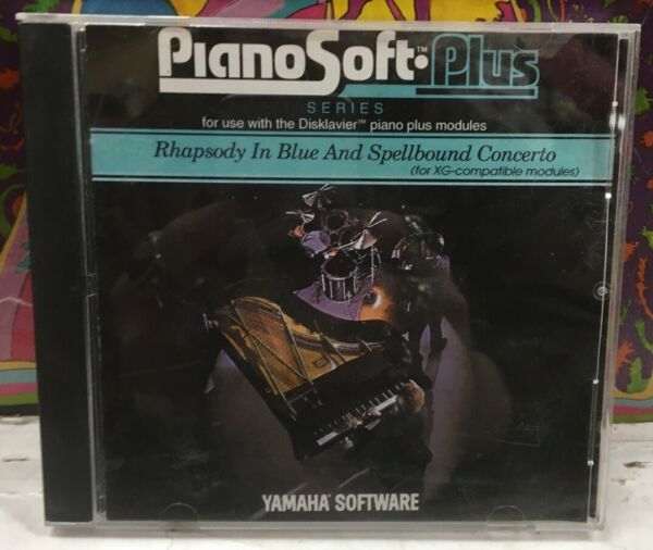 Piano Soft Plus Series Rhapsody In Blue And Spellbound Concerto Floppy Disc $20.00