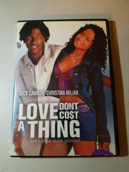 Love Don#x27;t Cost a Thing Widescreen Edition DVD Nick Cannon Christina Milian *** $6.49