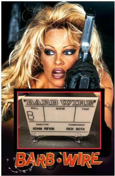Full Size Clapperboard Barb Wire Movie Prop Pamela Anderson Slate Baywatch