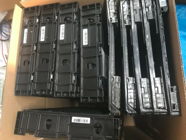 Produce Storage Crates Black Plastic Produce Crate lot of 10