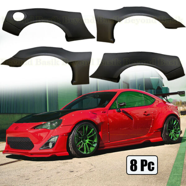 For 2013-2020 Scion FRS Subaru BRZ Toyota 86 Wide Body Kit Fender Flare Covers